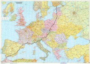 mapa alebo titulka slide eu2005